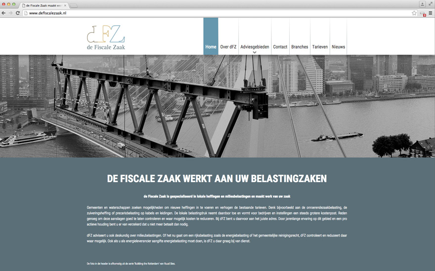 de-fiscale-zaak-website